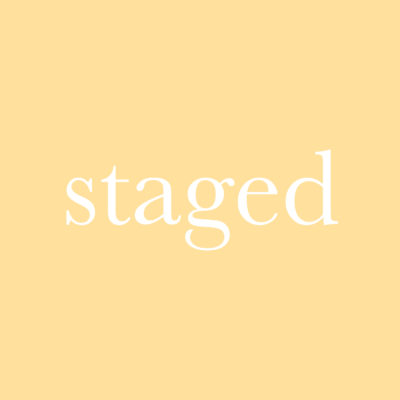 每日一字 : staged