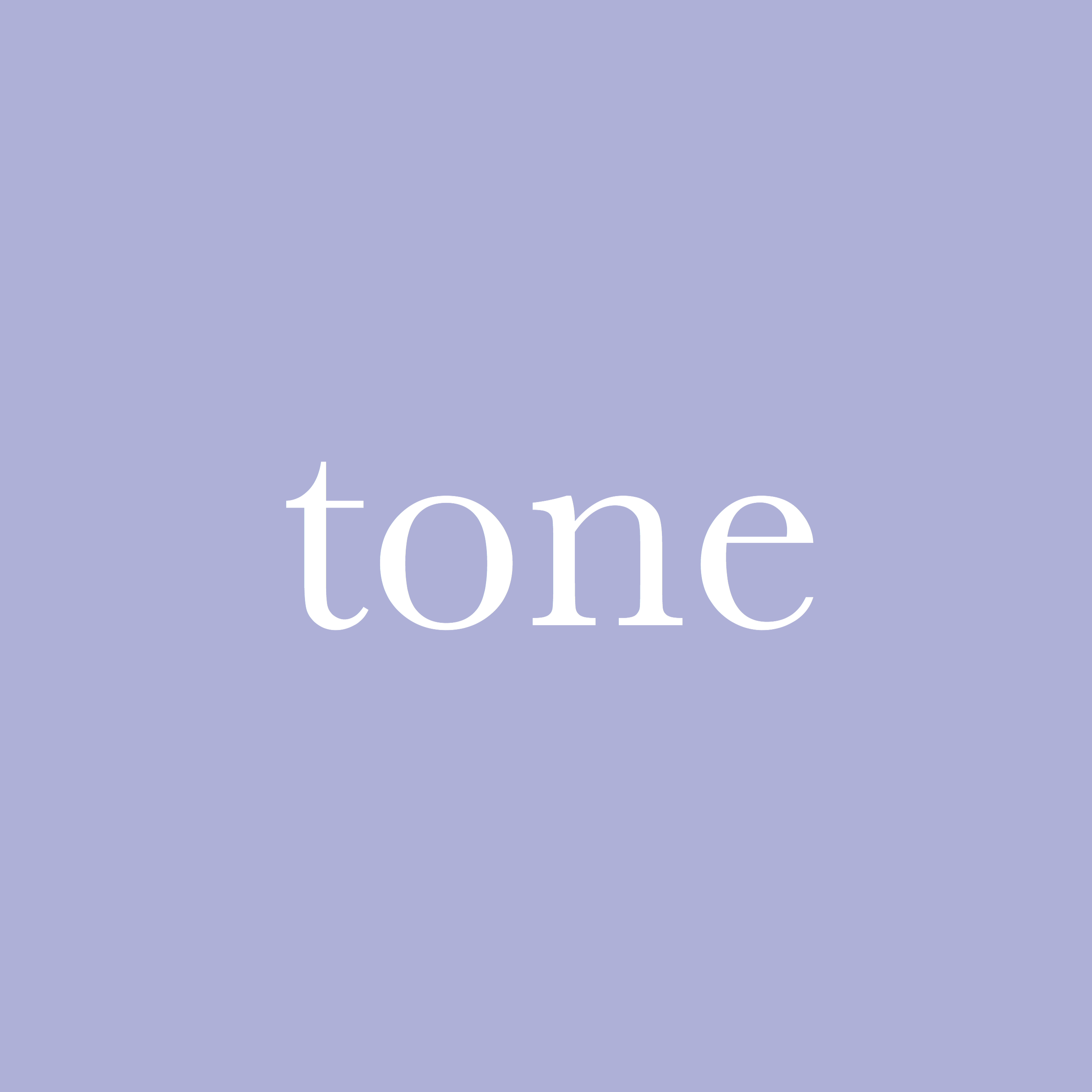 每日一字 : tone