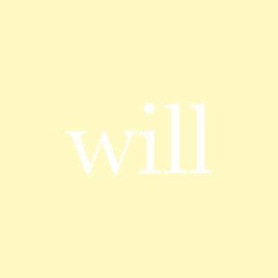 每日一字:will