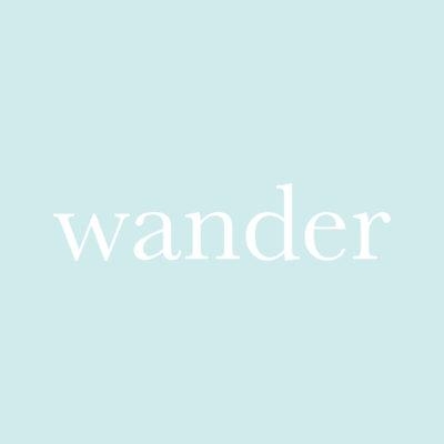 每日一字 : wander