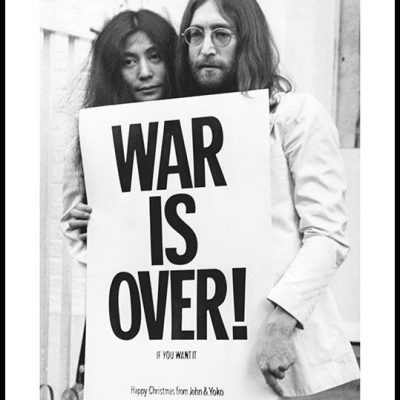 約翰連儂相信 War is Over, If You Want it